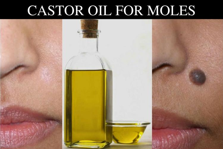 Cara beneficios de aceite ricino